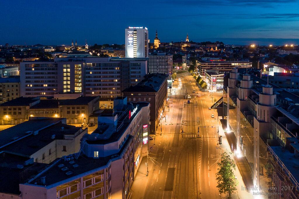 Narva maantee vaatega vanalinnale