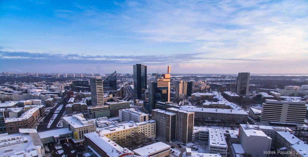 Vaade talvisele Tallinnale