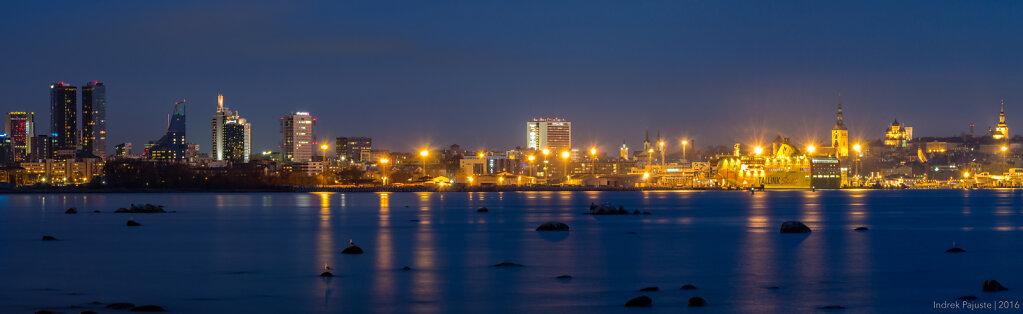 Öine panoraam Tallinnast